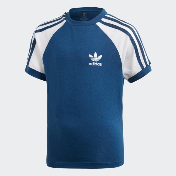 Stripes AdidasSwitzerland Shirt T 3 Bleu IyvbfYgm76