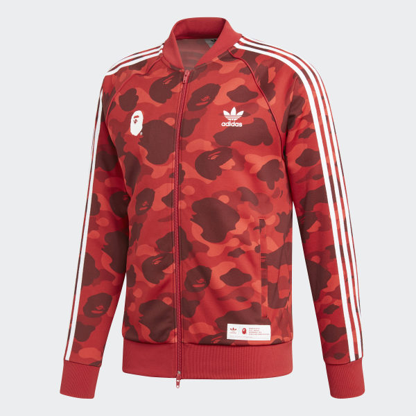 Bape Adidas X Top Track RedUs PXiTlOwukZ
