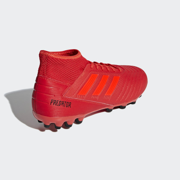 Rouge Predator Terrain Synthétique 3 Chaussure AdidasFrance 19 CrWoedxB