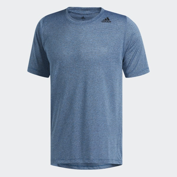 T Bleu Shirt Tech Freelift Fitted AdidasFrance Climacool SzUVpM