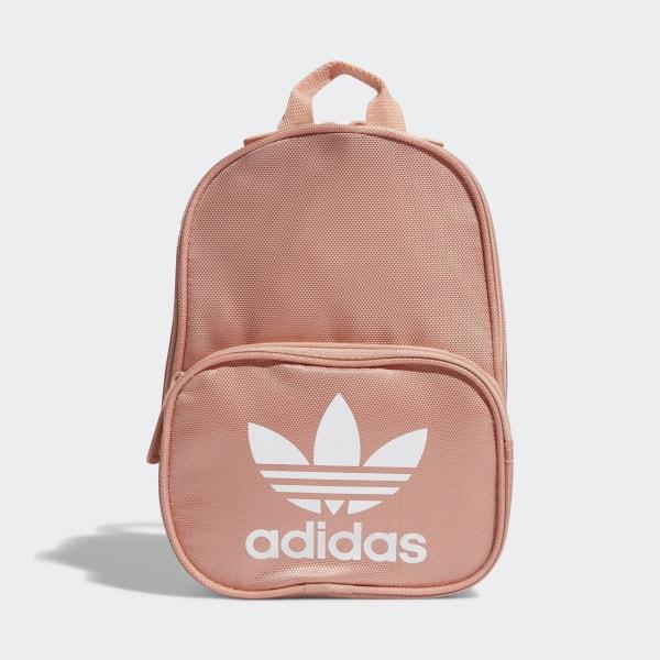 Mini Adidas Adidas Adidas Santiago Backpack PinkUs Santiago PinkUs Mini Backpack 435jLAR