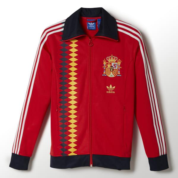 De Sudadera Adidas RojoColombia España Chaqueta hdoQrBxtsC