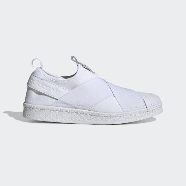 Superstar Blanc AdidasFrance On Chaussure Slip qpSMzUV