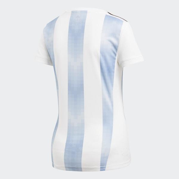 Argentina Adidas Titular Blanco Camiseta Selección PkZXiuTO