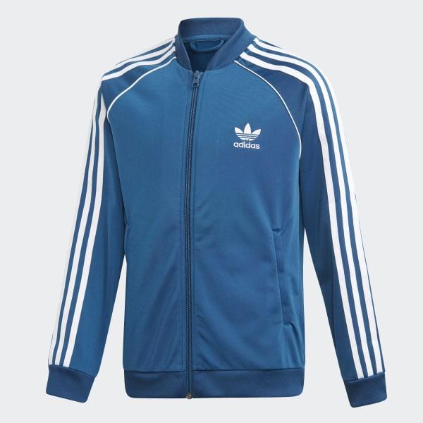 Veste Sst AdidasFrance De Survêtement Bleu e29EIYWDH
