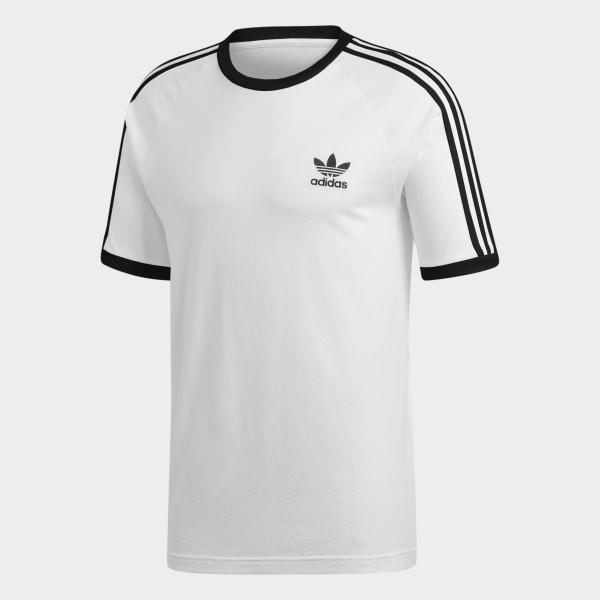 3 T Shirt Adidas Stripes WhiteUk dtrChxsQ