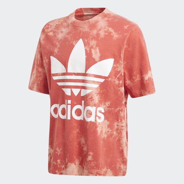 Dye Tee RedUs Trefoil Adidas Tie Rq435jLA