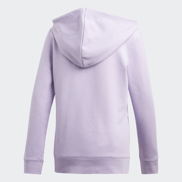 Trefoil Sweat À Capuche Violet AdidasFrance Shirt EH29ID