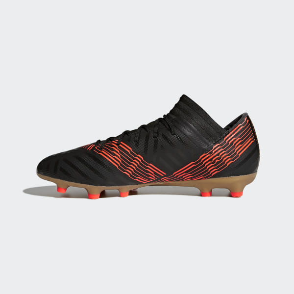 Calcio Adidas 17 Nero Nemeziz Ground Firm 3 Scarpe Italia Da Bpqnfn5