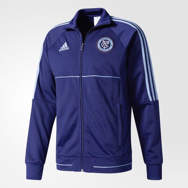 New Jacket Adidas City BlueUs York Fc Anthem 08NPnyvwmO