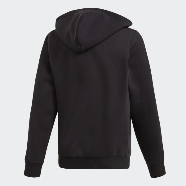 Bandes Veste À Capuche Noir 3 AdidasFrance Essentials 76yYgbf