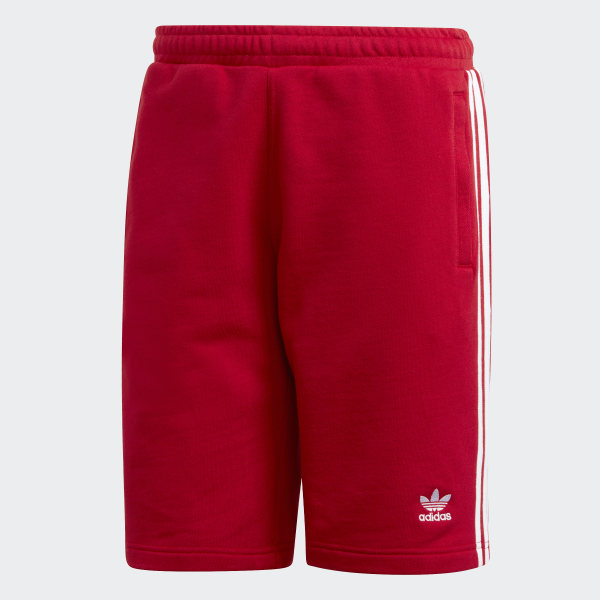 Rouge AdidasFrance Short Short Stripes 3 3 CtrshQdx