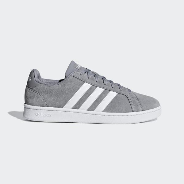 Court Schuh Adidas Grand GrauDeutschland 0Nmv8nw