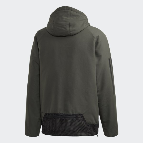 3 Insulated Back Vert Sports Hooded AdidasFrance To Veste Stripes qSVpzMUG