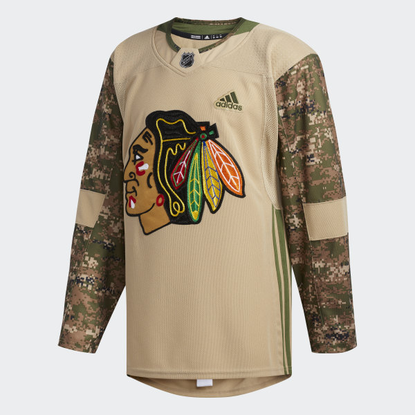 buy popular 8d8f9 66921 Shirt Blackhawks Camo Camo Blackhawks Blackhawks Camo ...