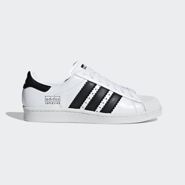 Superstar 80s Scarpe Adidas Querciacb Bianco 54RL3Ajq