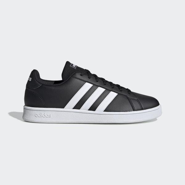 Court Chaussure Grand Noir Base AdidasFrance BeCdoWrx