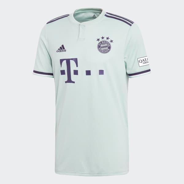 adidas FC Bayern Away Jersey - Turquesa  c62490a1da82d