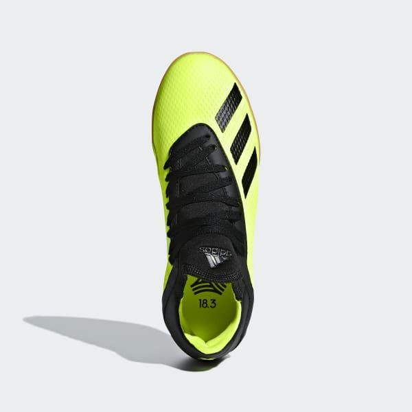 adidas Calzado de Fútbol X Tango 18.3 Superficies Interiores Niño - Amarillo   94eb813ba8595