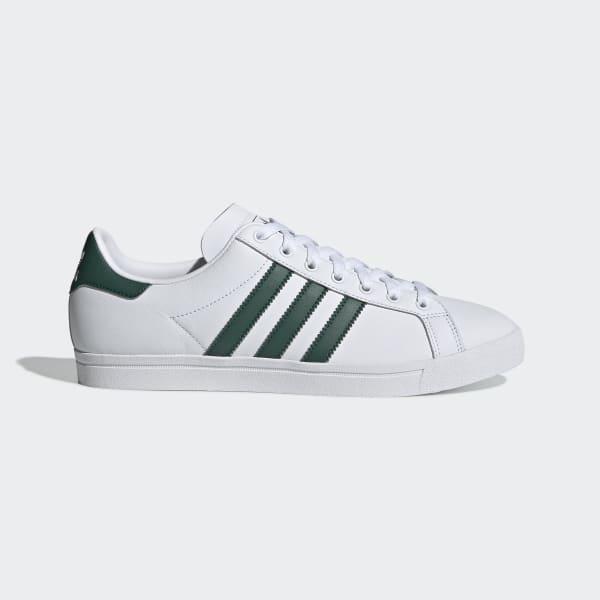 Adidas Schuhe in Rot mit weißen Streifen Größe 38 23