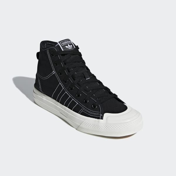 adidas Nizza RF Hi Shoes - Black