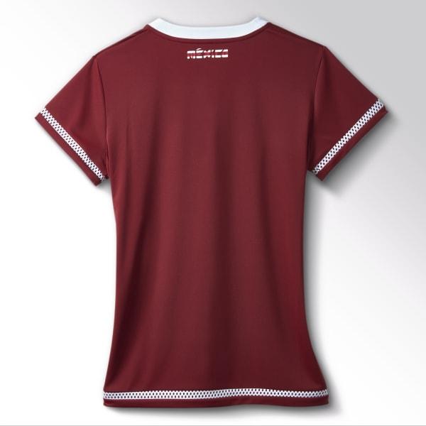 40394e8fdf1d5 adidas Jersey de Visitante Selección Mexicana Mujer - Rojo