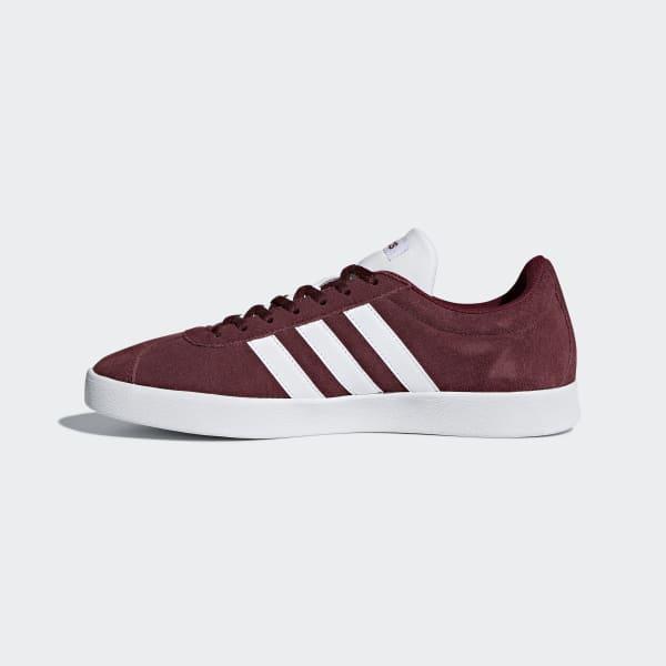 adidas VL Court 2.0 Shoes - Burgundy