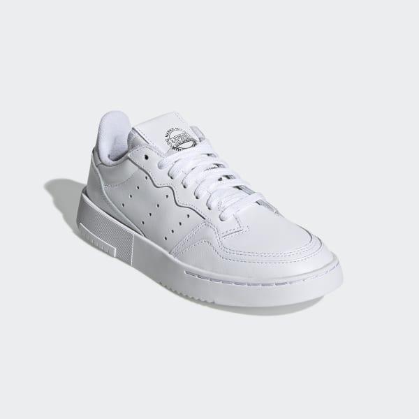Chaussures Supercourt blanches et noires pour enfant | adidas France