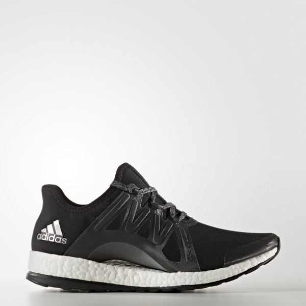 4a6f47987 Pure Boost Xpose Shoes Core Black   Cloud White   Grey BB1733
