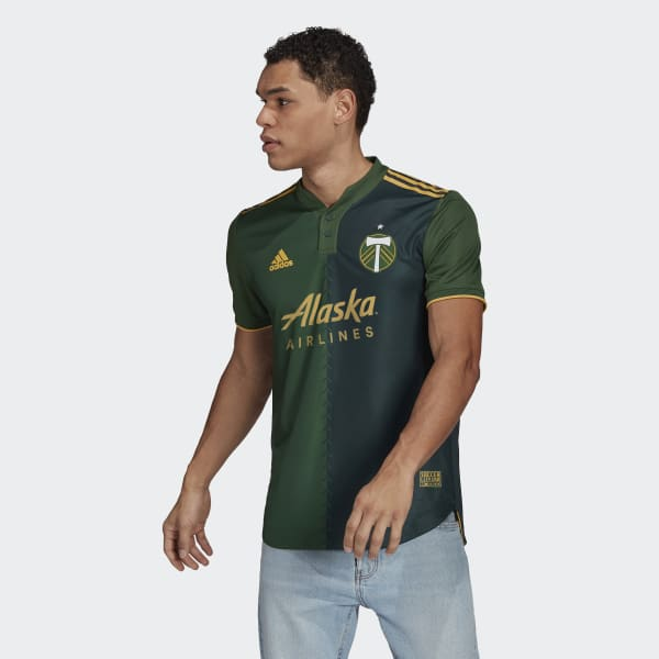 Portland Timbers 21/22 Home Authentic Jersey