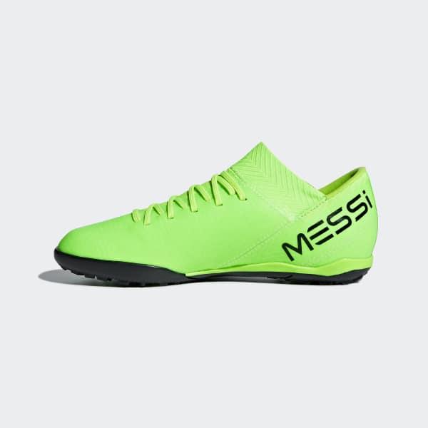 Zapatos de Fútbol Nemeziz Tango 18.3 Césped Artificial - Verde adidas  b9d3056f99e57