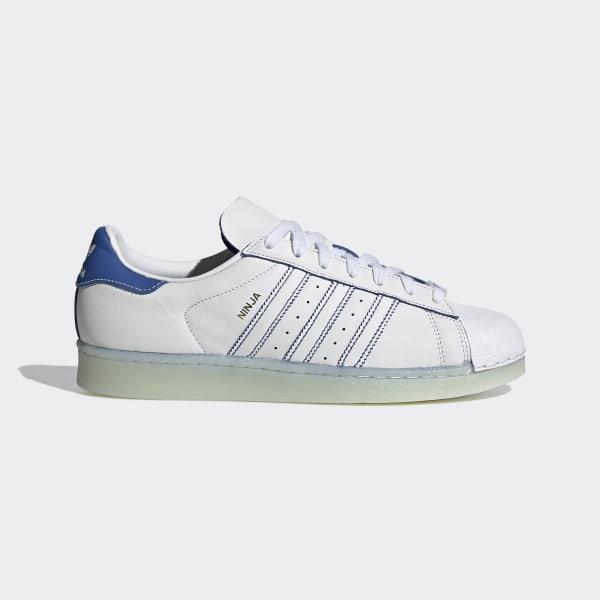 Adidas Ninja Superstar Shoes White Adidas Us