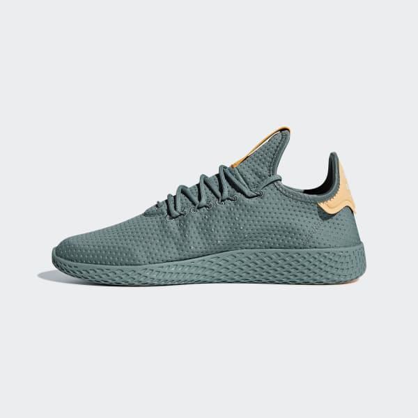 adidas Sapatos Pharrell Williams Tennis Hu - Verde  a5da66199192c