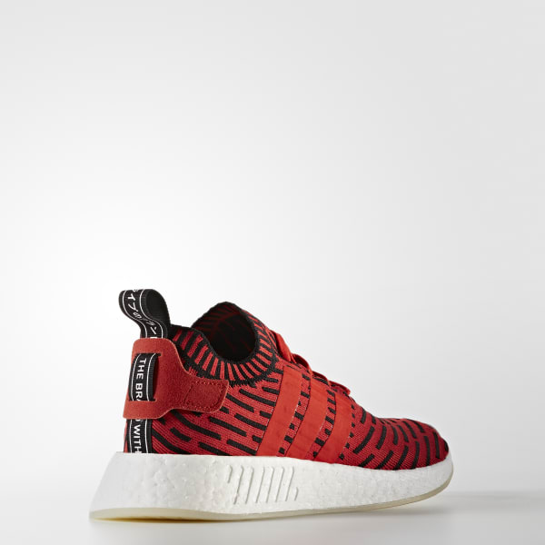 cdf829c2b adidas NMD R2 Primeknit Shoes - Red