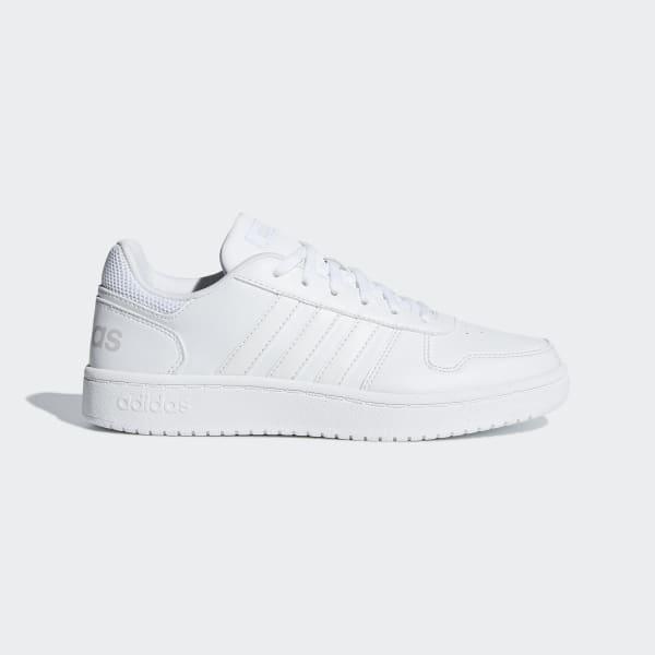 Suradam Enumerar Desacuerdo  adidas Hoops 2.0 Shoes - White | adidas US