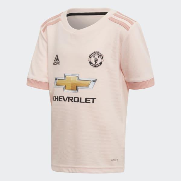 Mini Kit Away Manchester United