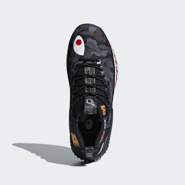 adidas Dame 4 BAPE Shoes - Grey   adidas US 07702dcde9e