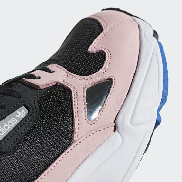 B28126 Adidas Originals Falcon Zapatillas de Mujer Core BlackLight Rosas