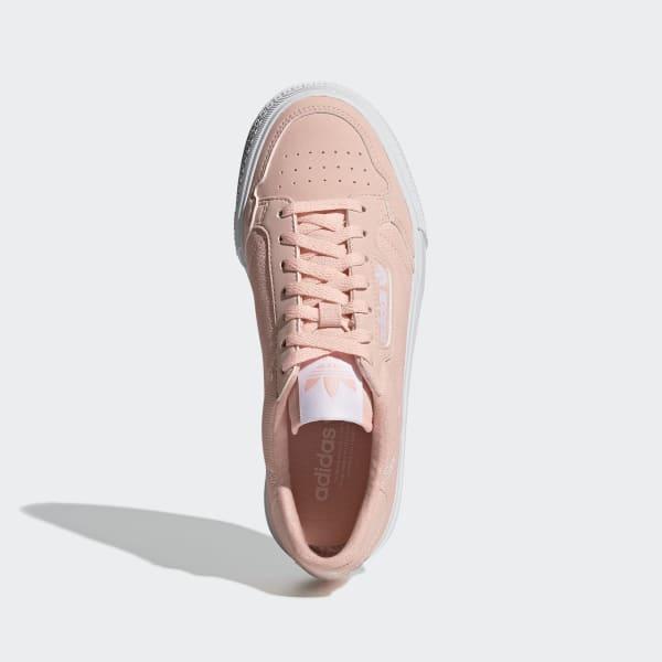 adidas continental 8 peach