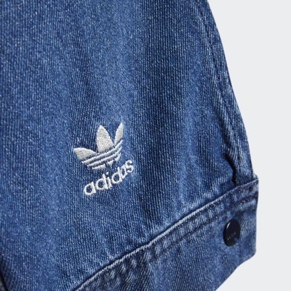 adidas veste en jean
