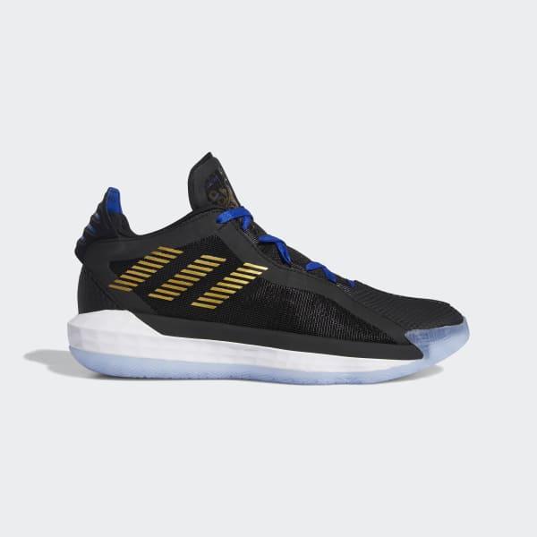 adidas Performance DAME 6 SHOES - Basketballsko - black