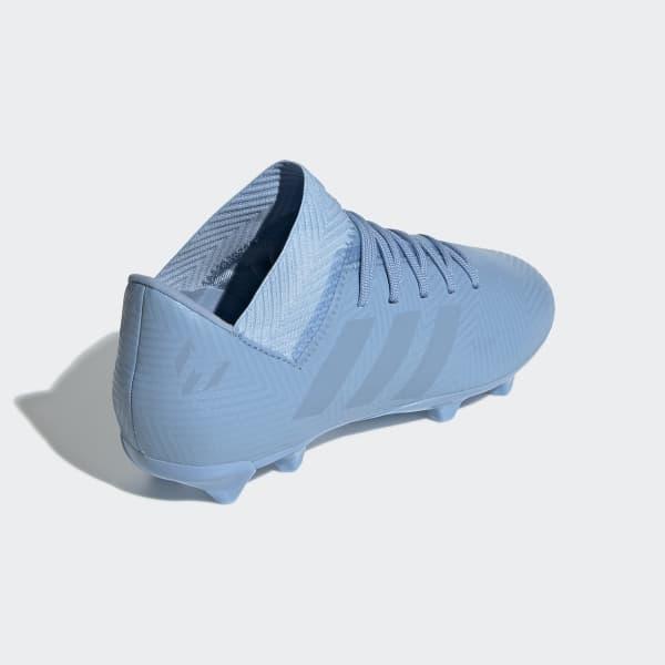 Chuteira Nmz Messi 18.3 Campo Infantil - Blue adidas  06ec226b1d6ba