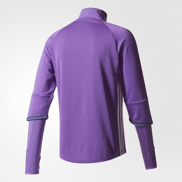 Sudadera de entrenamiento Real Madrid - Violeta adidas  d522d72968ca7