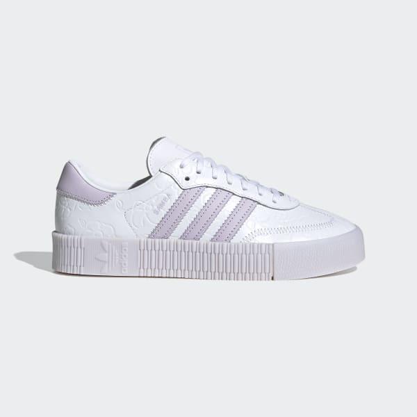 adidas SAMBAROSE Shoes - Purple