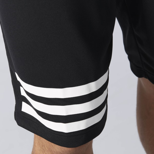 adidas horizontal striped shorts