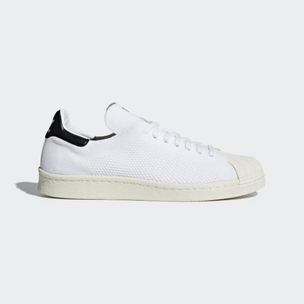Chaussure Superstar 80s Primeknit - blanc