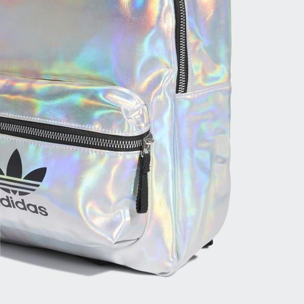 Mochila Metalizada - Plateado Adidas