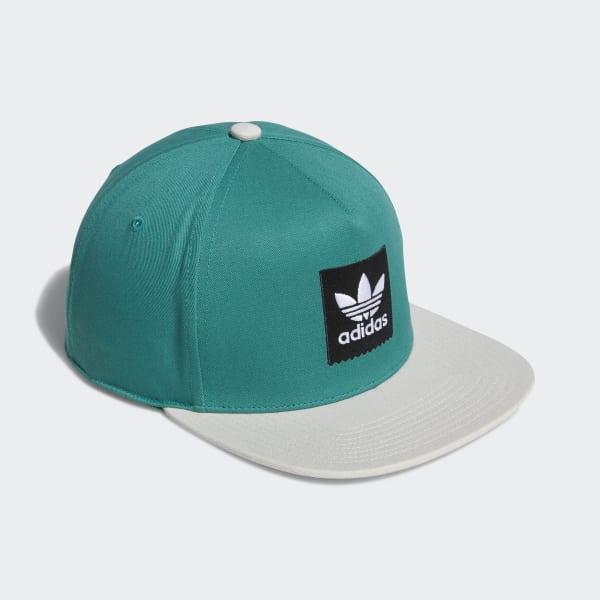 Two-Tone Trefoil Snapback Hat