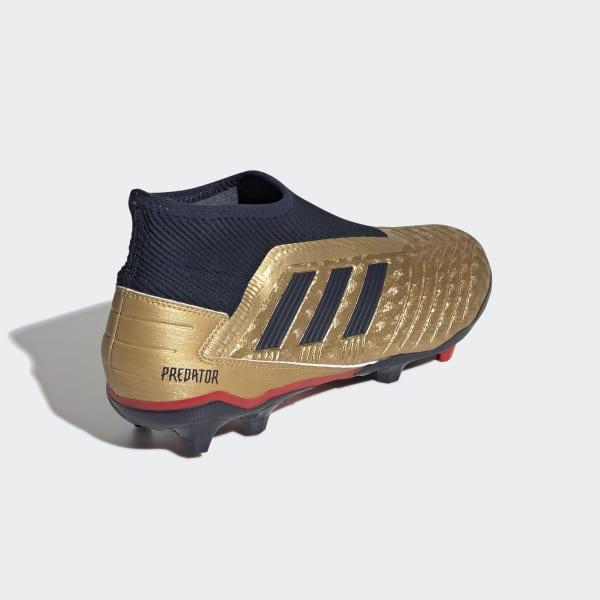 db849ee50d6 Chaussure Predator 19.3 Zinédine Zidane Terrain souple - or adidas ...
