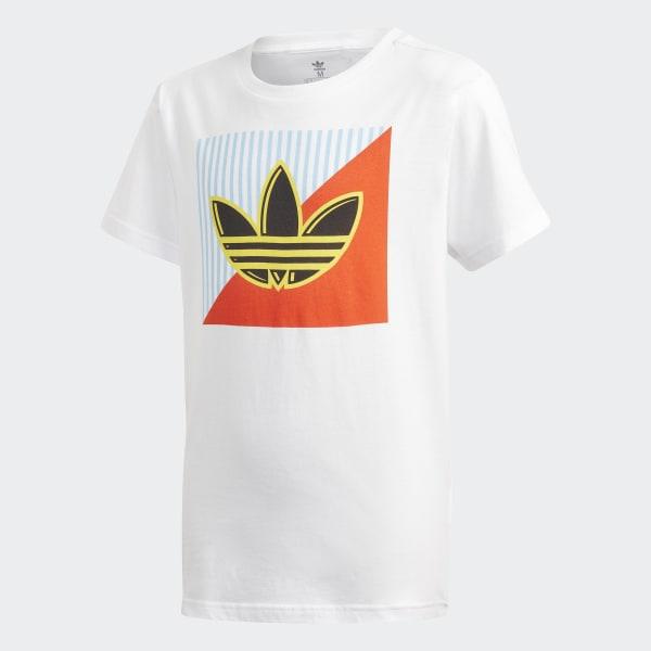 adidas Originals x Pharrell Williams Graphic Tee | Hvit